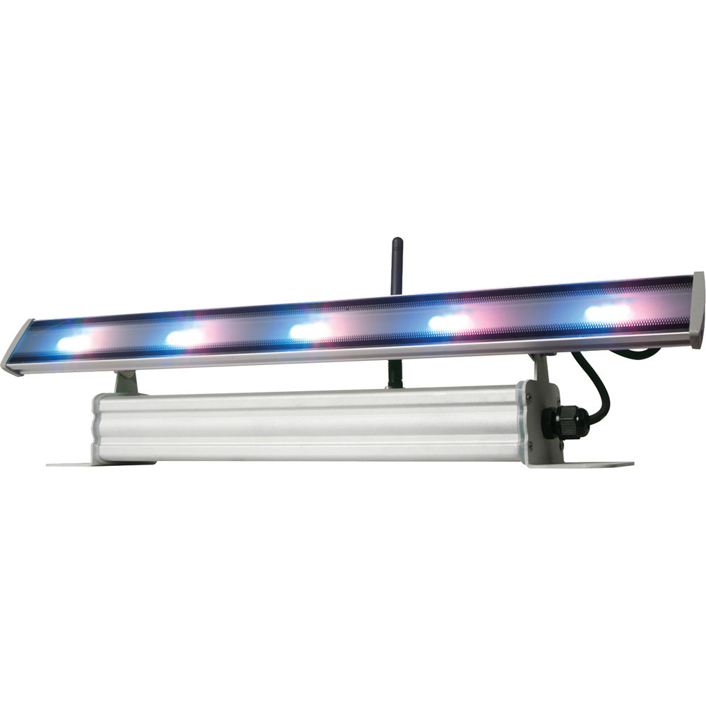 american dj wifly wash bar battery powered led linear wif678q. Black Bedroom Furniture Sets. Home Design Ideas