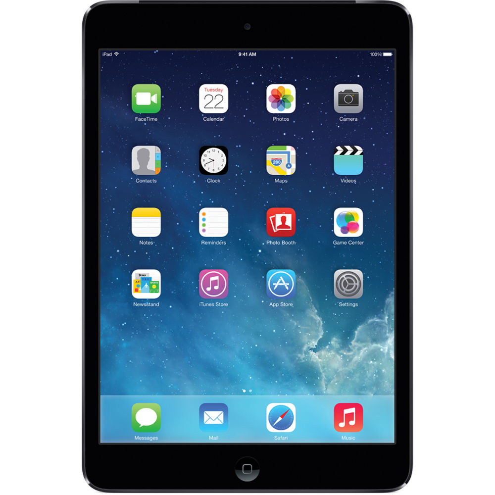 apple 32gb ipad mini 2 with retina display me277ll a b h photo. Black Bedroom Furniture Sets. Home Design Ideas
