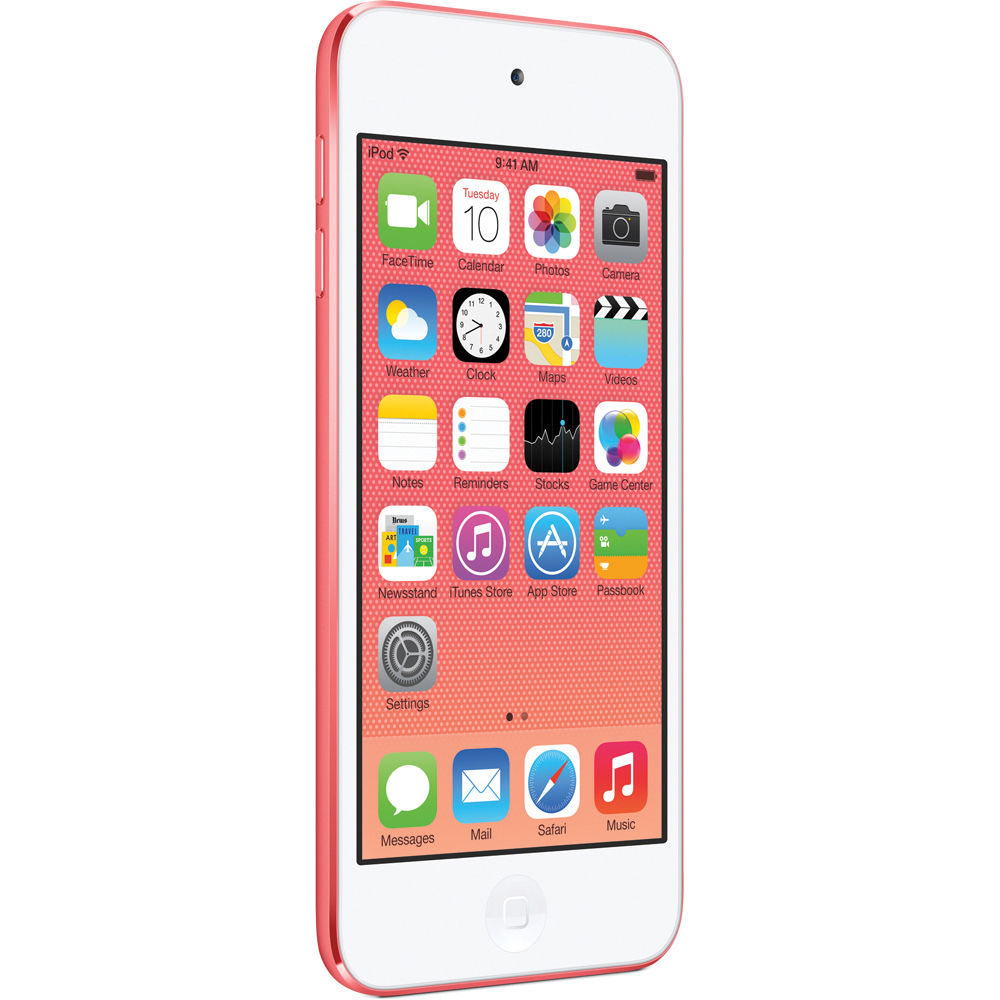 apple 16gb ipod touch pink 5th generation mgfy2ll a b h. Black Bedroom Furniture Sets. Home Design Ideas