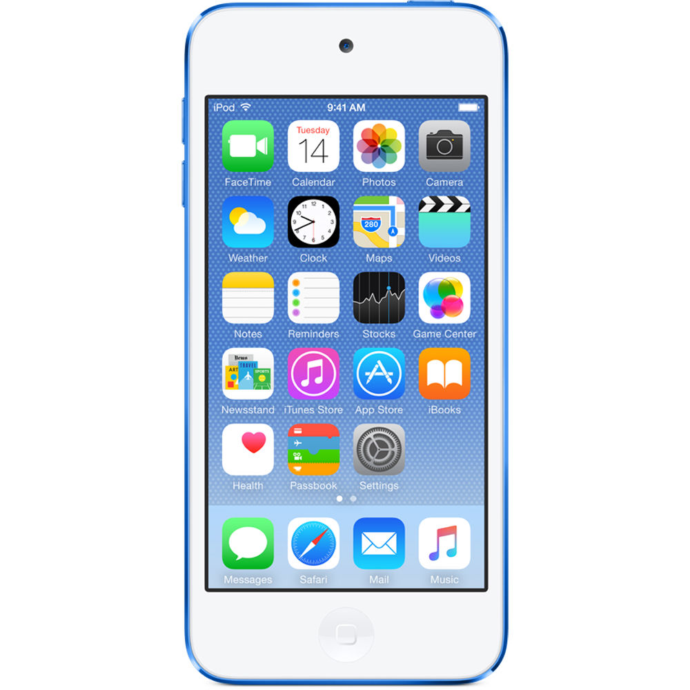 Apple 16GB iPod touch (6th Generation, Blue)