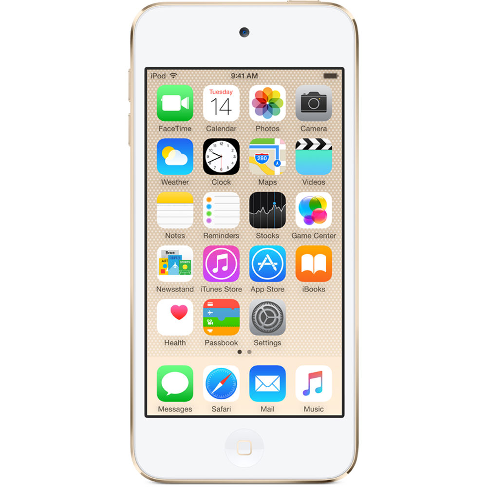 Apple 32GB iPod touch (6th Generation, Gold)