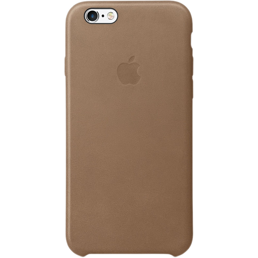 apple iphone 6 plus 6s plus leather case brown mkx92zm a b h. Black Bedroom Furniture Sets. Home Design Ideas