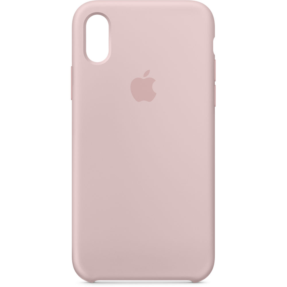 067b375ea1e Apple iPhone X Silicone Case (Pink Sand) MQT62ZM A B H Photo