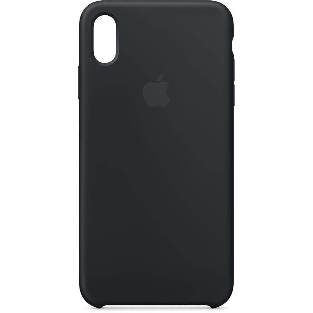 Apple Iphone Xs Max Silicone Case Black Mrwe2zm A B H Photo