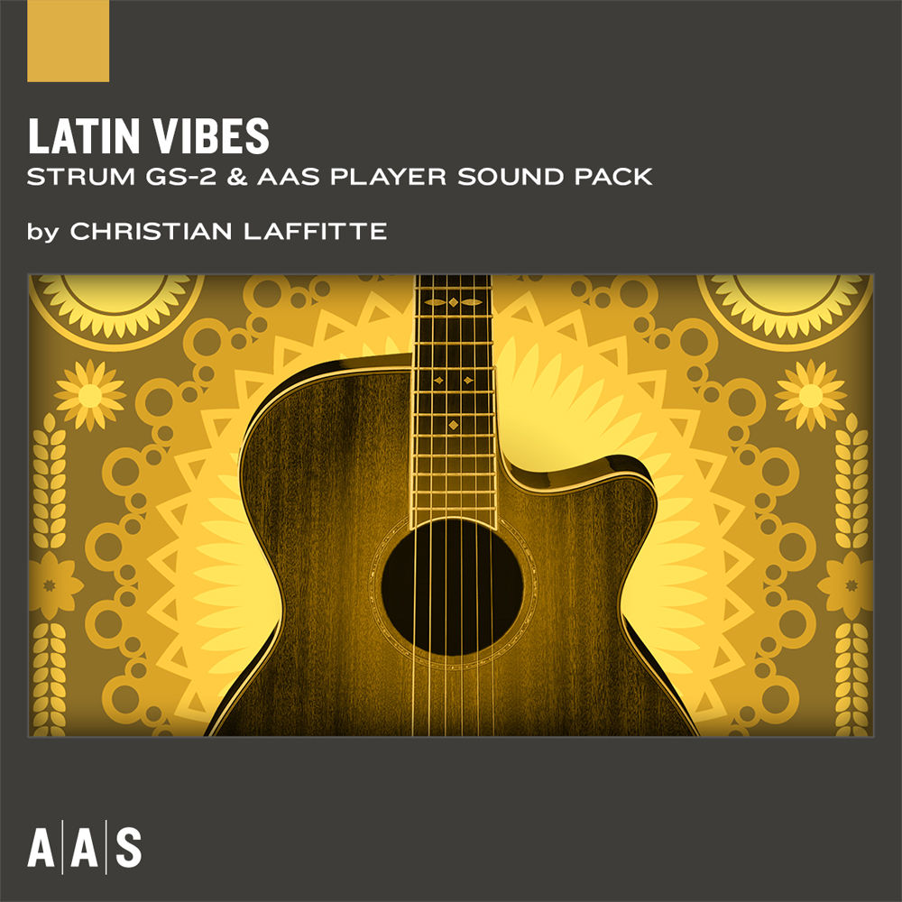 Applied Acoustics Systems Latin Vibes Guitar Sound Pack Aa Lat