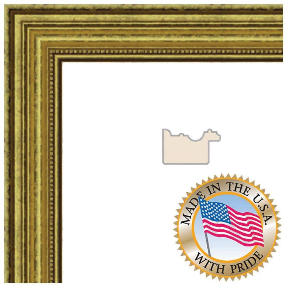 ART TO FRAMES 4159 Gold Foil on Pine WOM0066-81375-YGLD-9X12 B&H