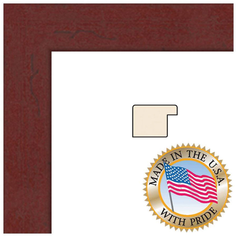 Art To Frames 3978 Mahogany Photo Frame Womfrbw26039 3x5 Bh