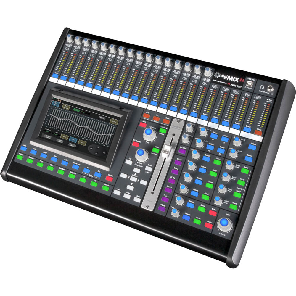 Ashly Digimix24 24 Channel Digital Mixer Digimix Bh Photo Audio Mixers Projects Circuits 7