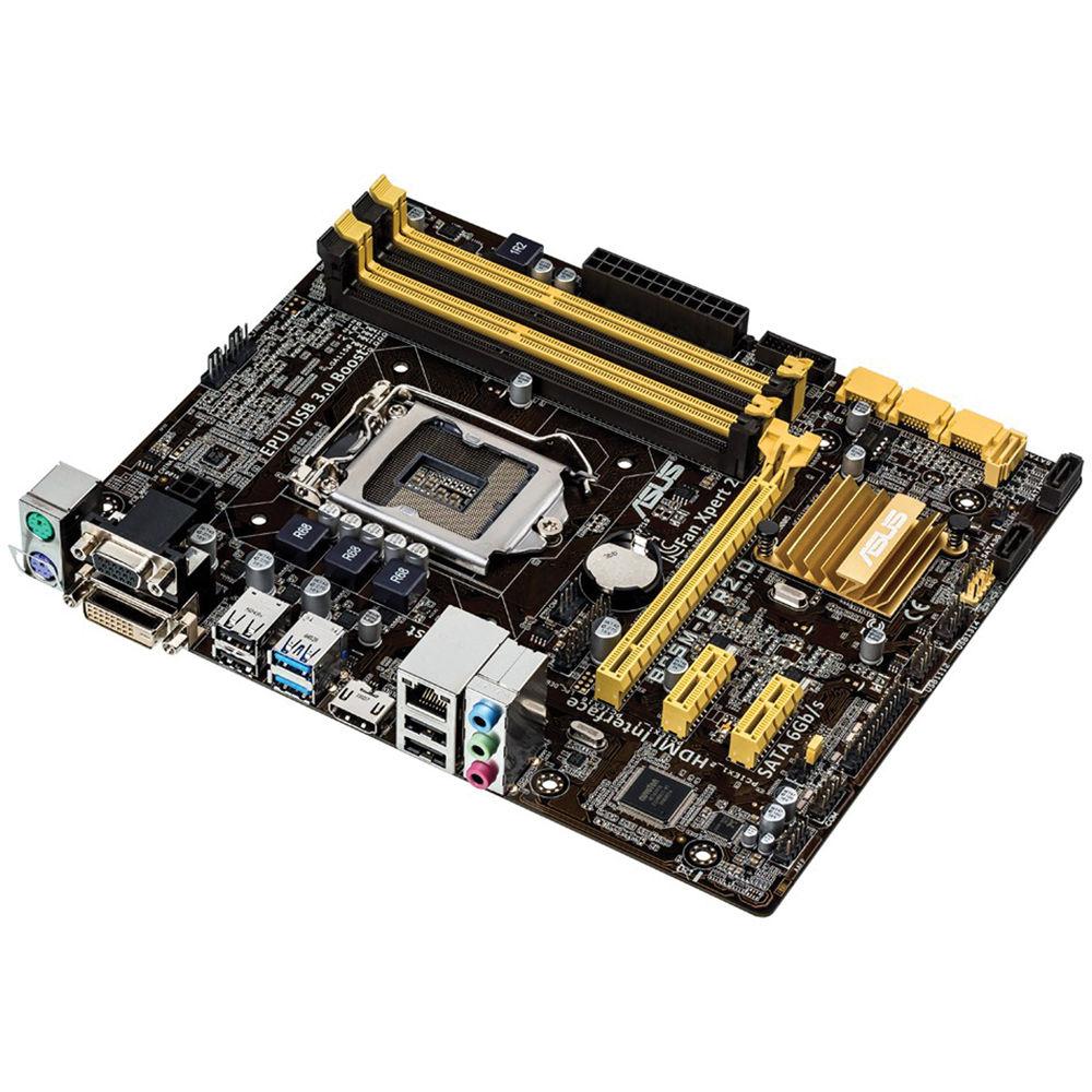 ASUS B85M-G R2.0 LGA-1150 Micro-ATX Motherboard B85M-G R2.0 B&H