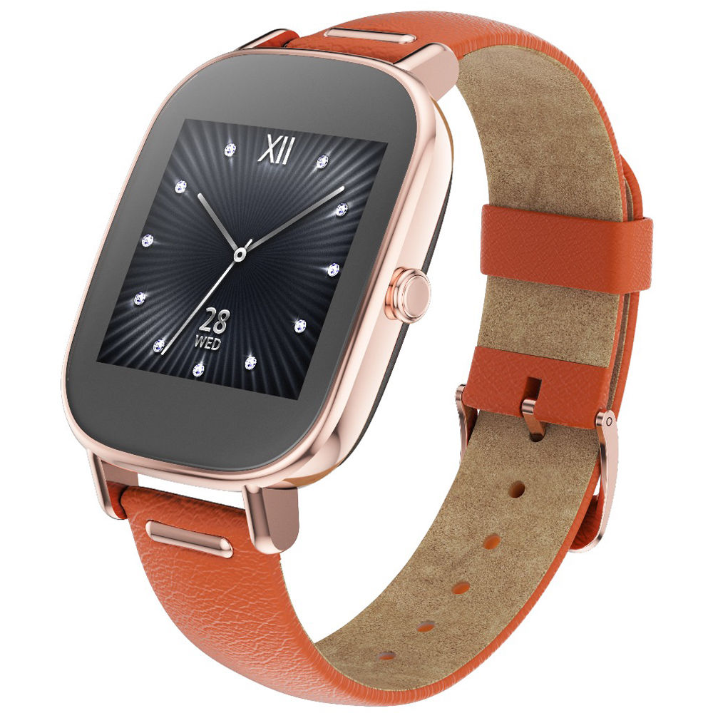 ASUS ZenWatch 2 Android Wear Smartwatch WI502Q-RL-OG B&H Photo