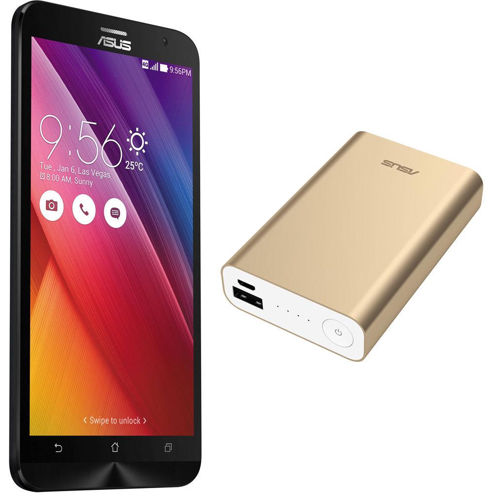 ASUS Osmium Black ZenFone 2 ZE551ML 64GB Smartphone Kit B&H