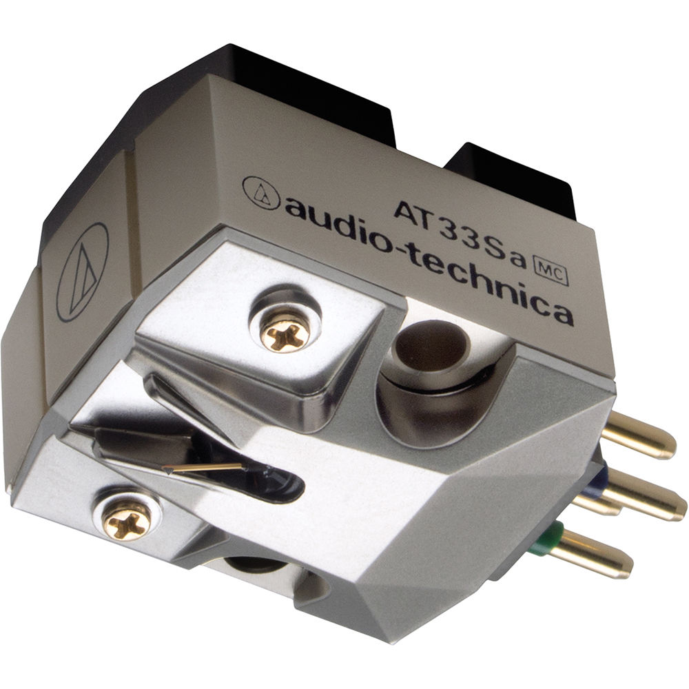Audio Technica Consumer Dual Moving Coil Cartridge At33sa Bh Preamplifier Input From Head With Shibata Stylus