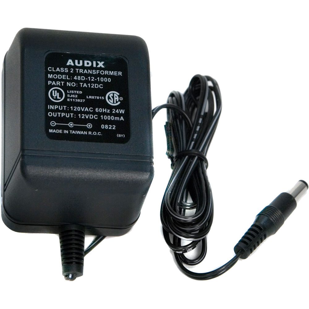 Audix Ta12dc Replacement Power Supply For Ph3 Speakers Without Transformer
