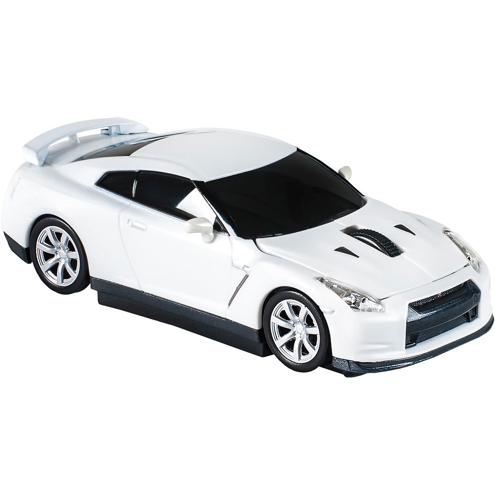 automouse nissan gtr r35 2 4 ghz wireless mouse 95906w white. Black Bedroom Furniture Sets. Home Design Ideas