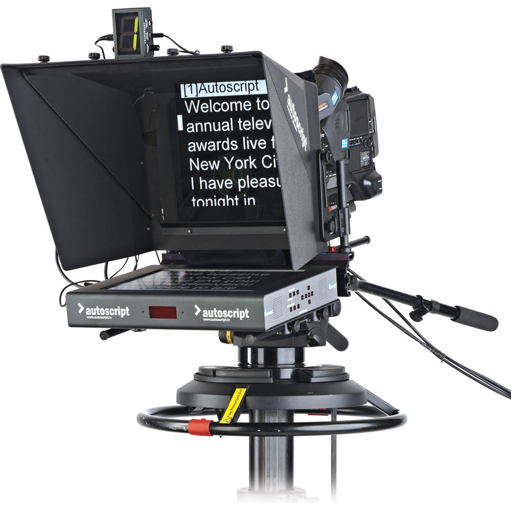 how to create a teleprompter