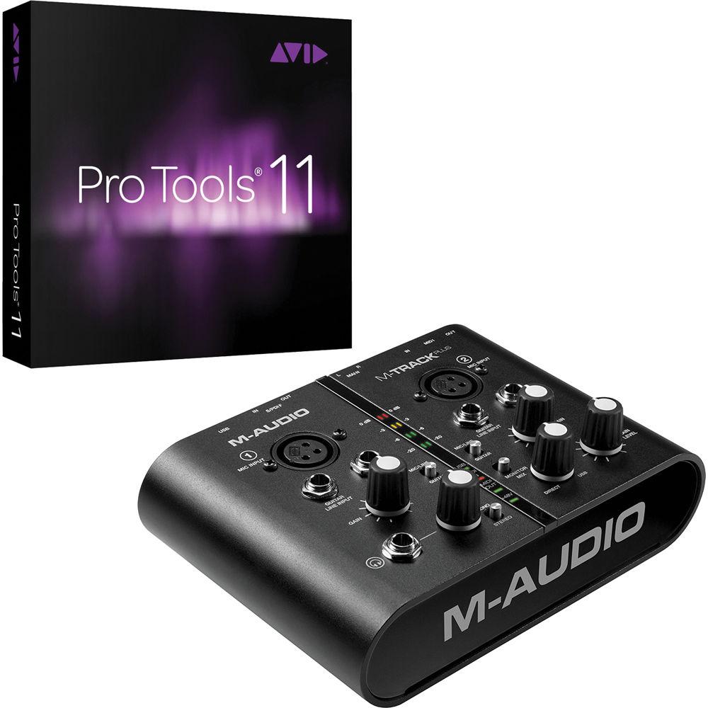avid pro tools 11 crossgrade with m audio m track plus usb b h. Black Bedroom Furniture Sets. Home Design Ideas