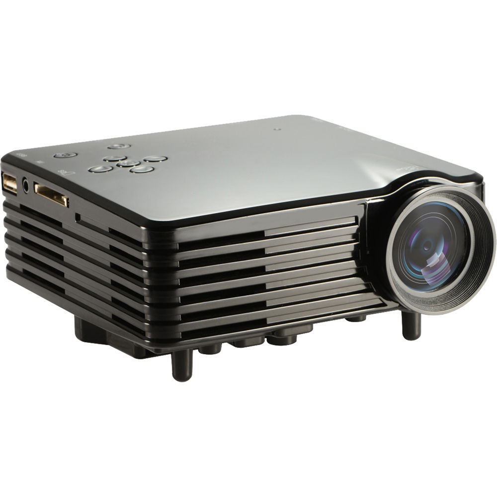 Avinair 7s mini portable led projector avpj mp7s b h photo for Portable video projector