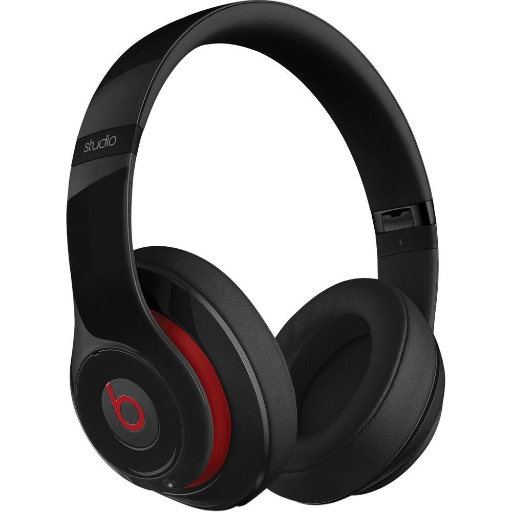 beats by dr dre studio2 wireless headphones black mh8h2am a. Black Bedroom Furniture Sets. Home Design Ideas