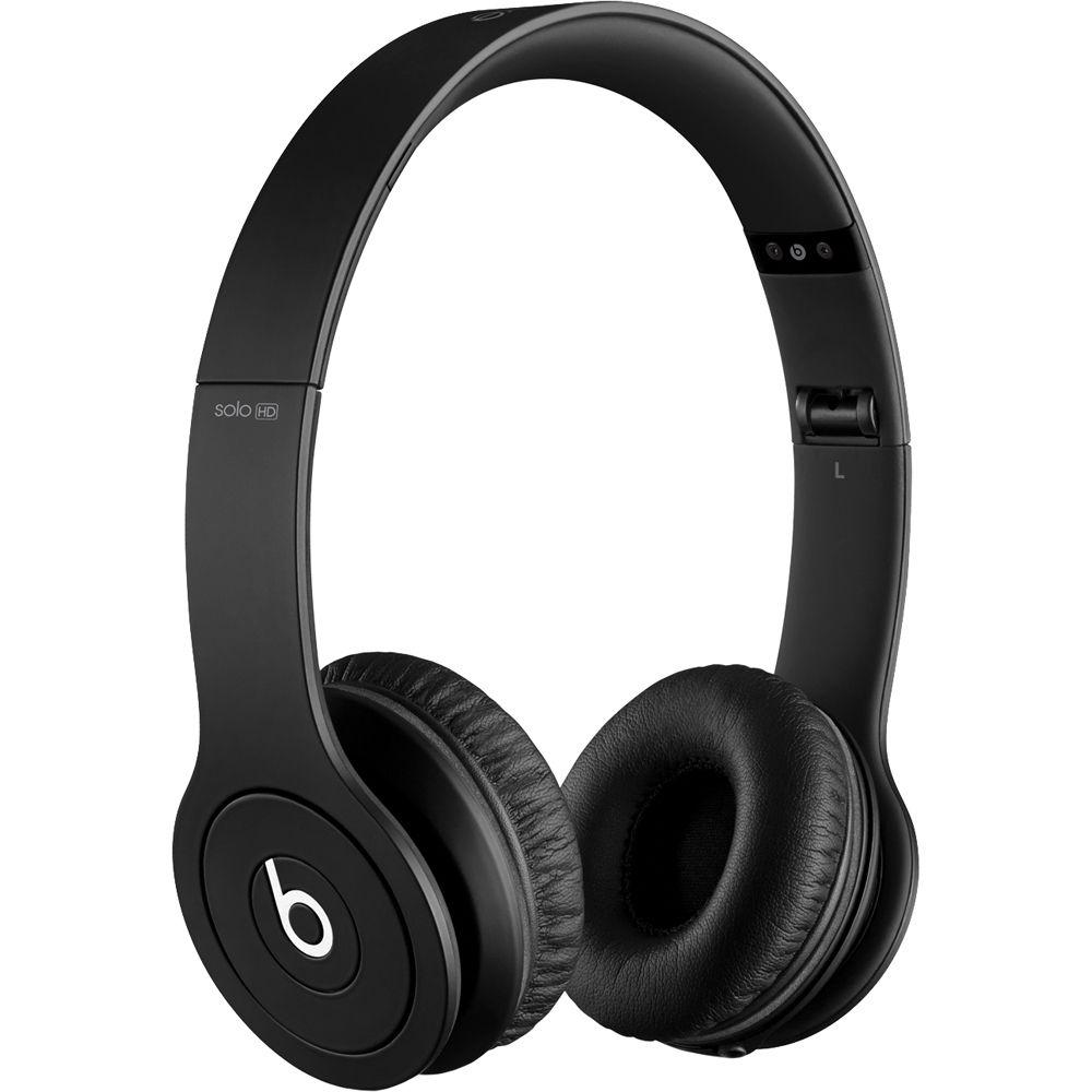 Beats by Dr. Dre Solo HD On-Ear Headphones MH9D2AM/A B&H Photo