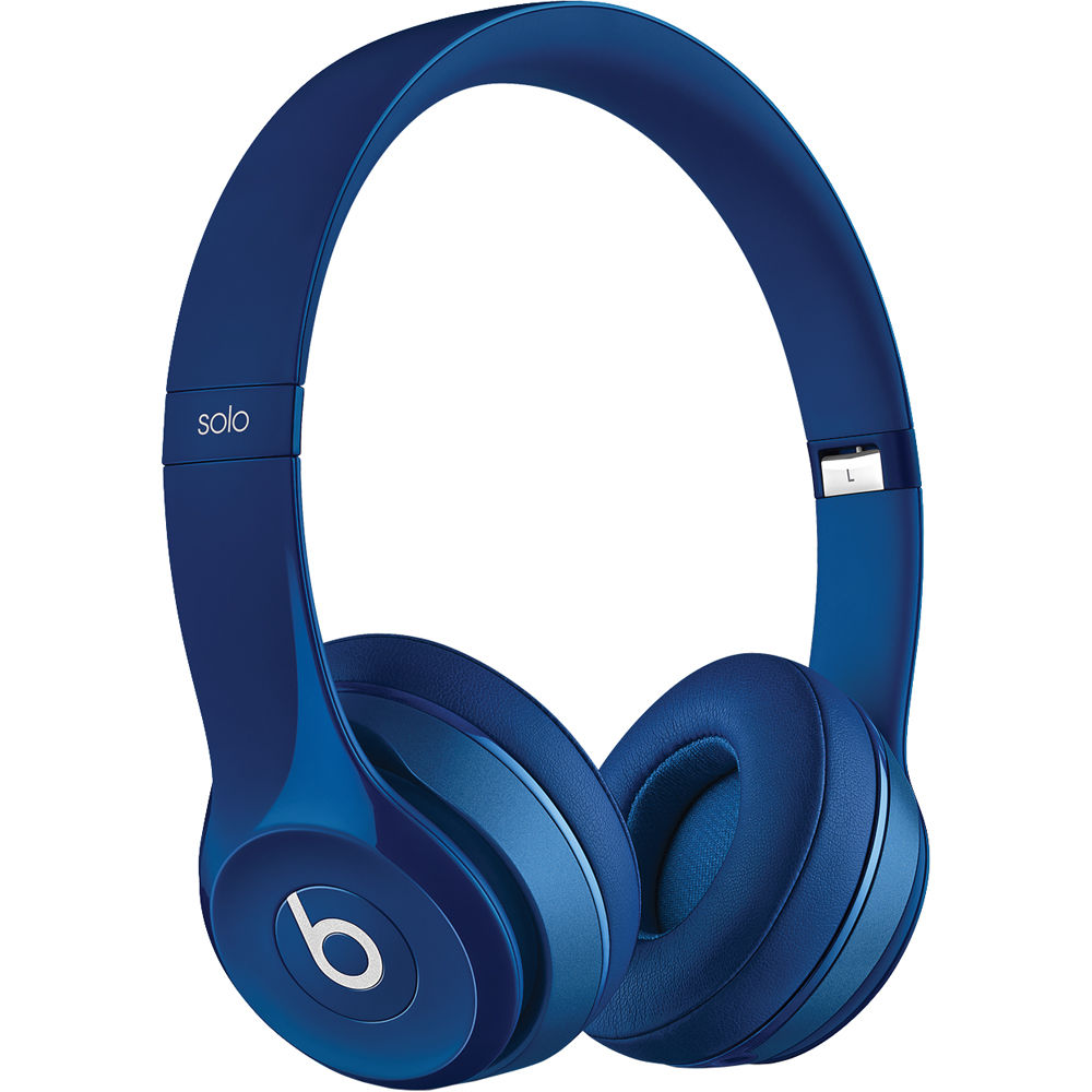Beats by Dr. Dre Solo2 Wired On-Ear Headphones (Blue) MHBJ2AM/A