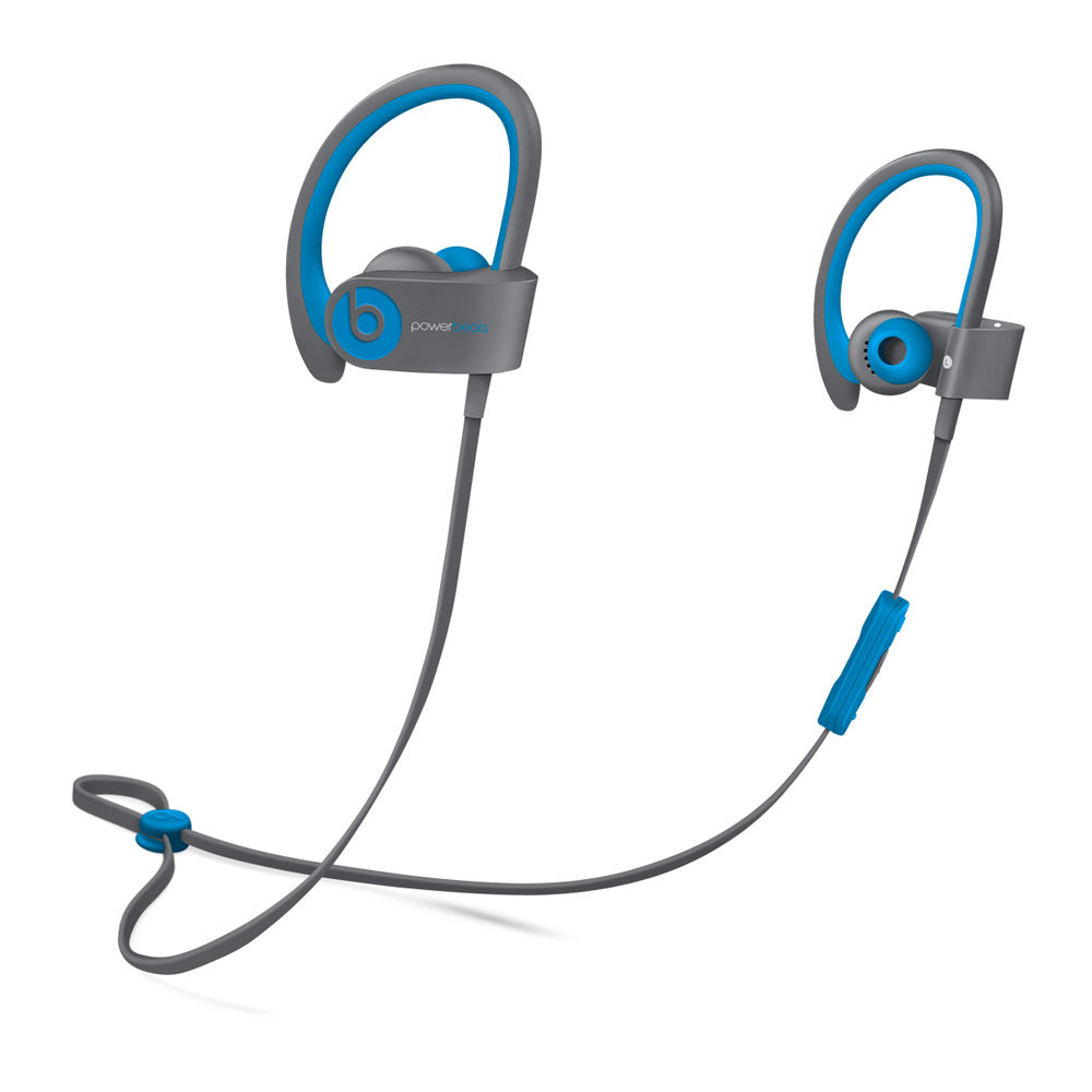 Blue earbuds beats - powerbeats3 wireless earphones blue