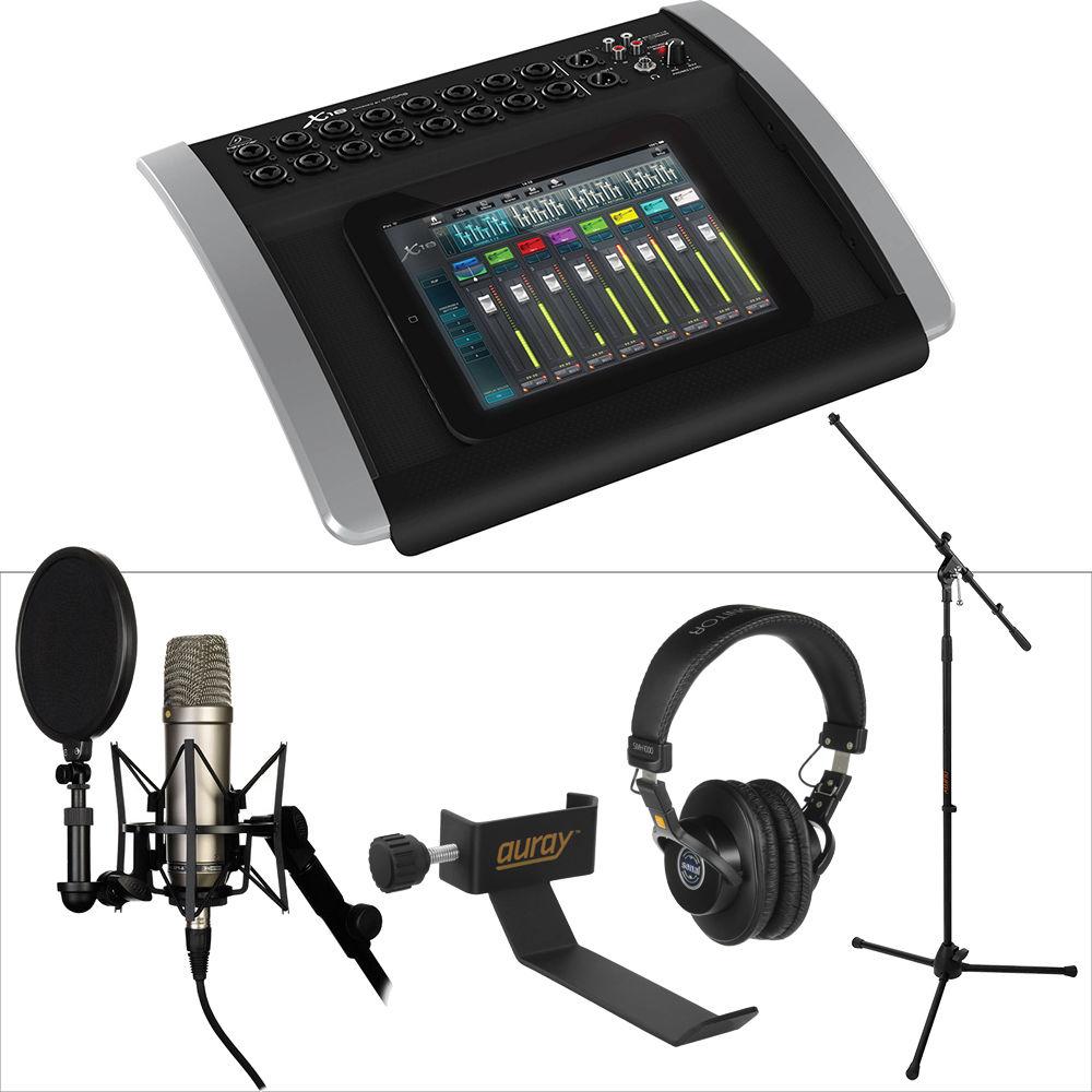 behringer x18 digital mixer kit with rode nt 1 microphone b h. Black Bedroom Furniture Sets. Home Design Ideas
