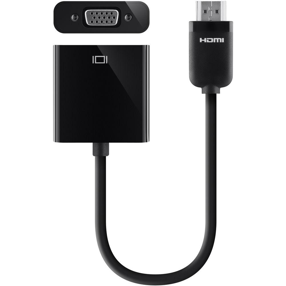 Belkin HDMI to VGA Projector Adapter AV10145BT B amp H Photo Video
