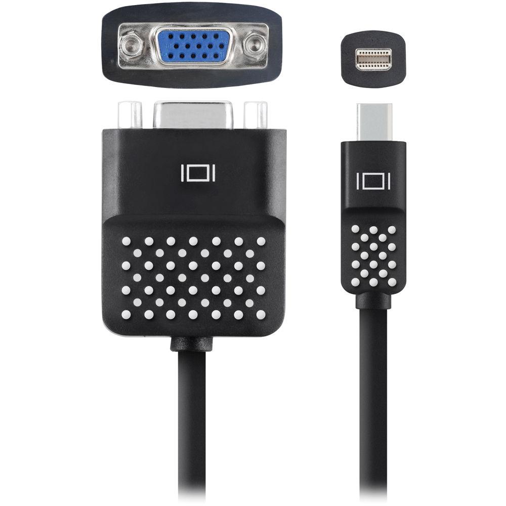 Belkin mini displayport to vga adapter f2cd028bt b h photo - Display port to mini display port adapter ...