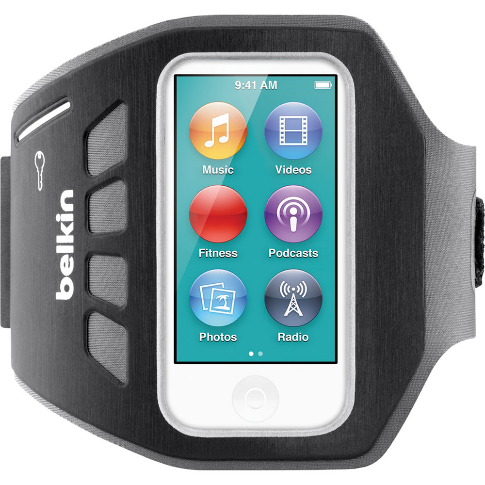 ... nano 7th Generation (Blacktop). iPod, iPad, or iPhone not included