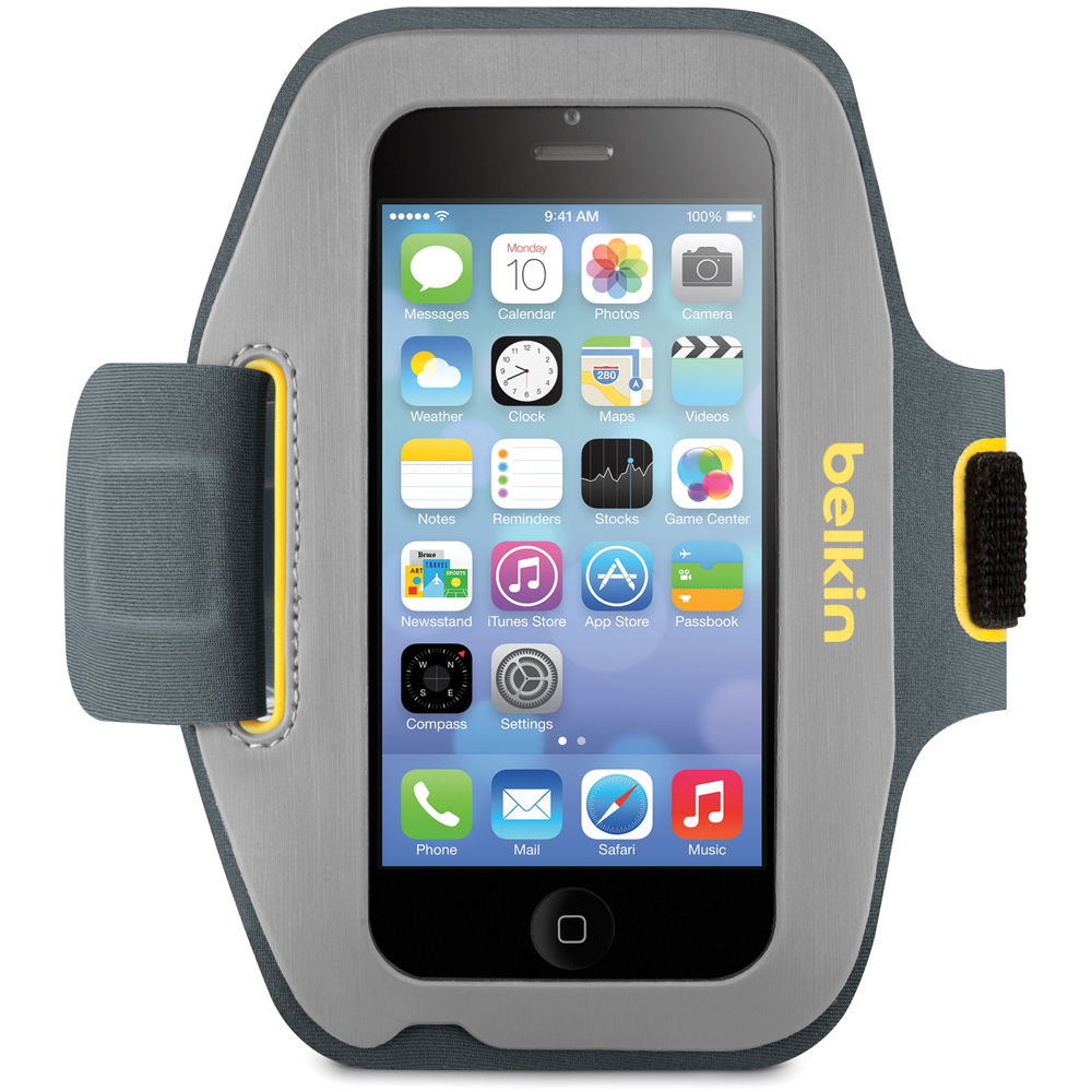 Belkin Sport-Fit Armband for iPhone 5/5s/5c/SE, 5th ...