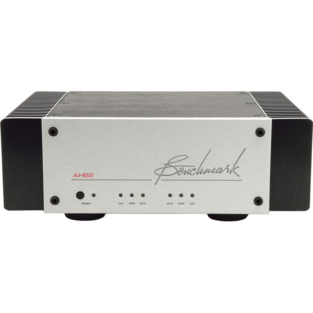 Benchmark Ahb2 High Resolution Power Amplifier 500 18000 100 Bh Audio Amp Mid Portable Speaker Silver