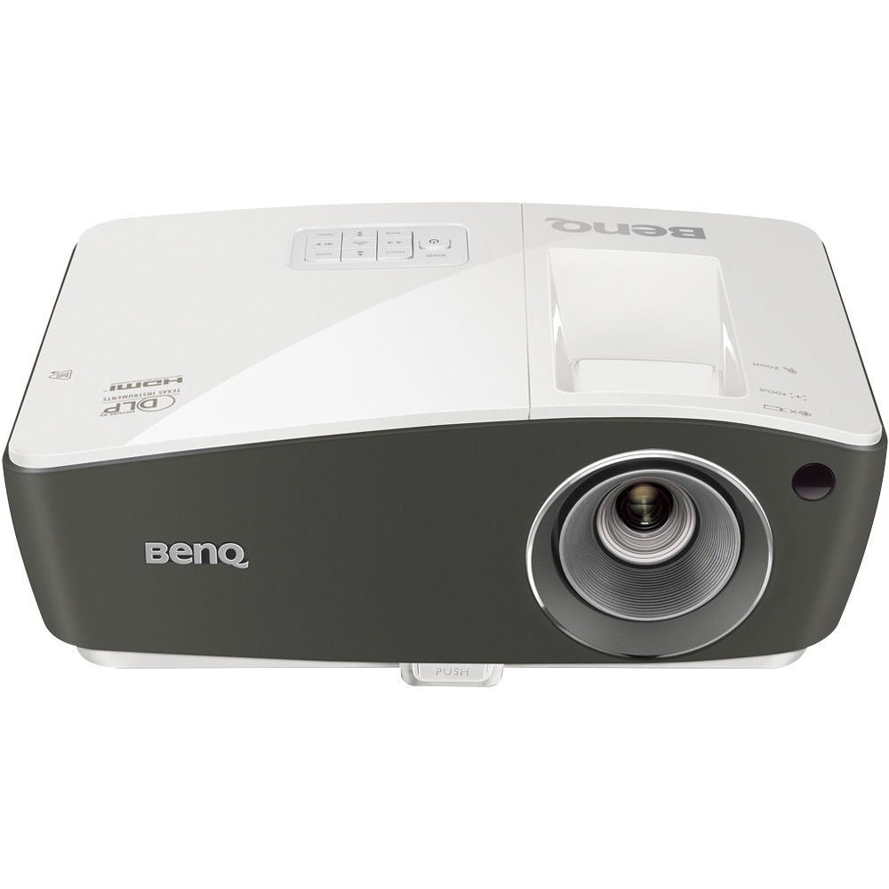 Benq th670 full hd dlp home theater projector th670 b h photo for Hd projector