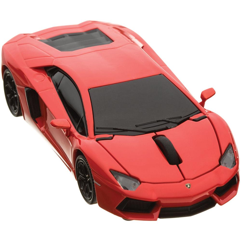Automouse Lamborghini Aventador 2 4 Ghz Wireless 95901w Orange