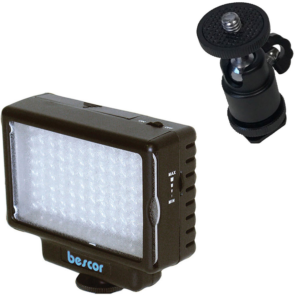 Bescor LED-70 Dimmable 70W Video and DSLR Light