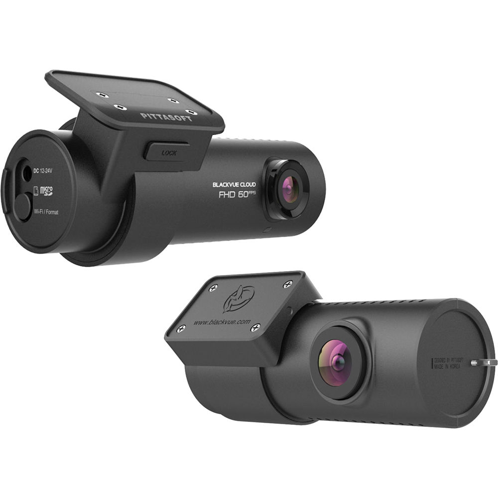 Black Vue DR750S Series 2-Channel Dash Camera DR750S-2CH 16GB