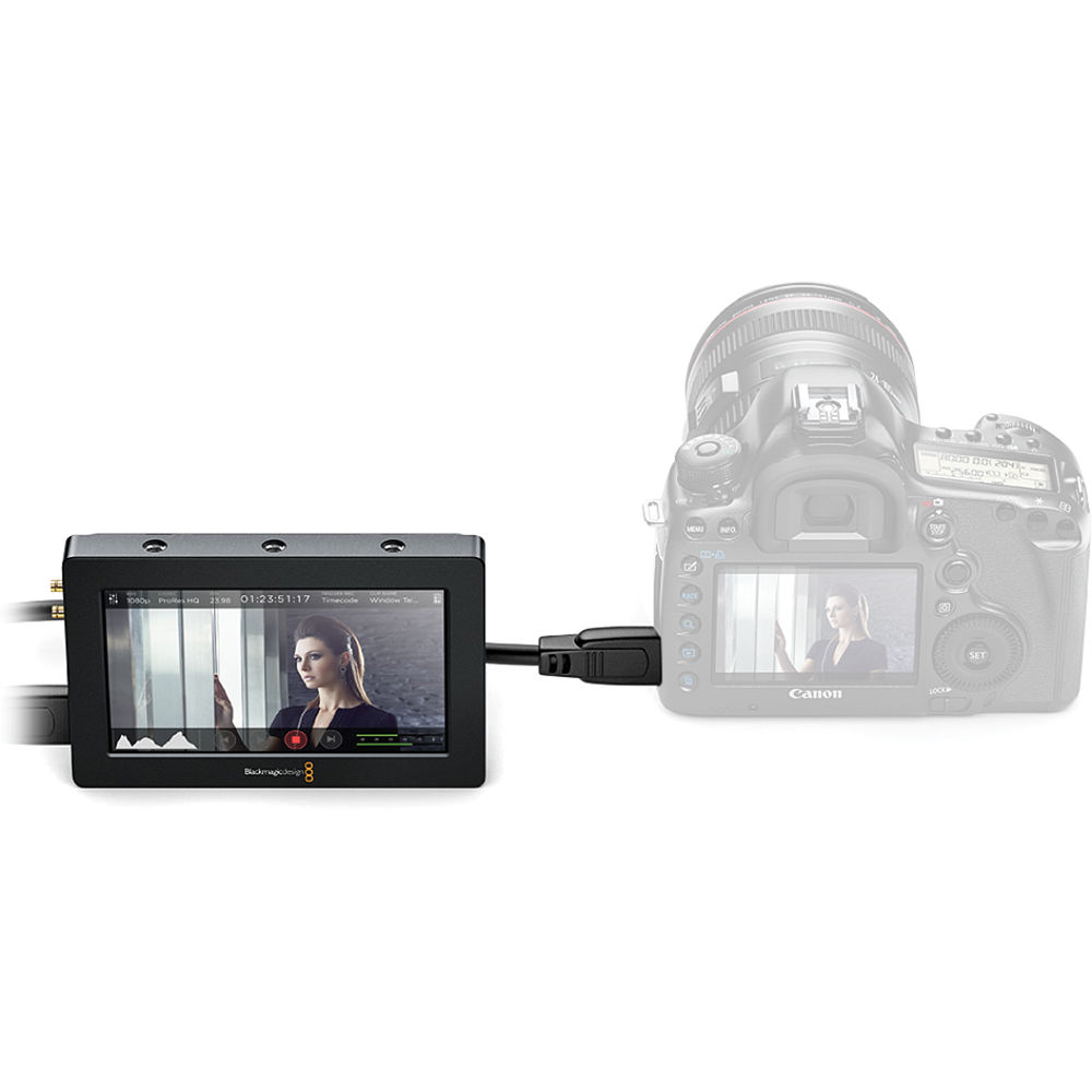 blackmagic video assist  Blackmagic Design Video Assist HDMI/6G-SDI HYPERD/AVIDAS5HD B&H