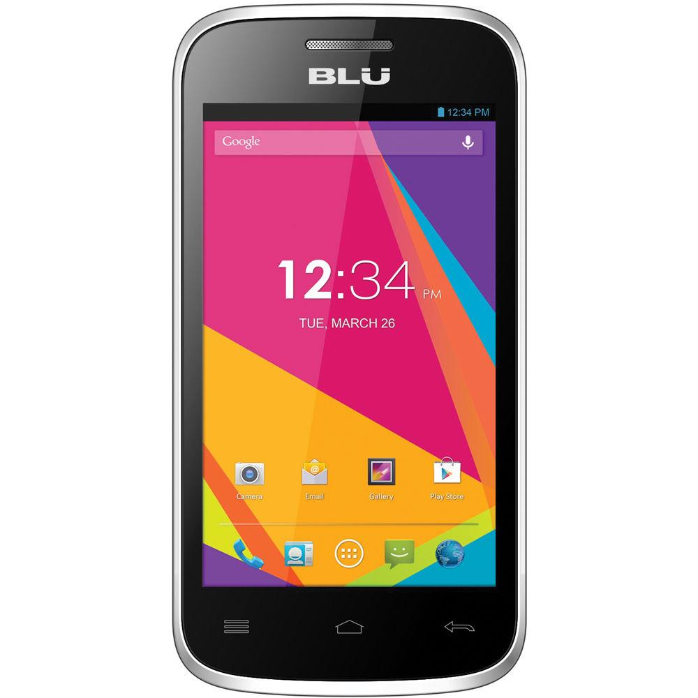 Deal Dash Com Tvs >> BLU Dash Jr 4.0K D142K 512MB Smartphone D142K-SILVER B&H Photo