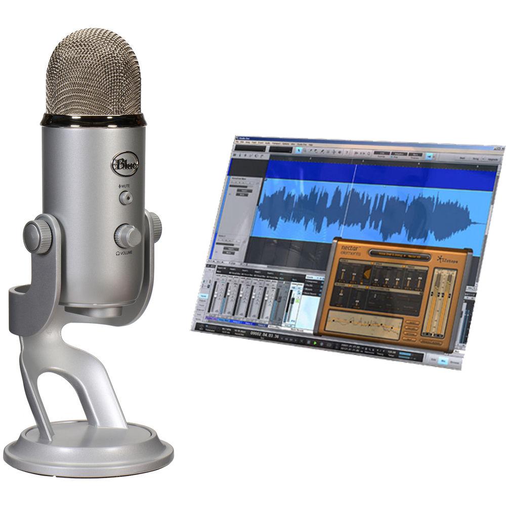 blue yeti studio usb microphone professional 836213002063 b h. Black Bedroom Furniture Sets. Home Design Ideas
