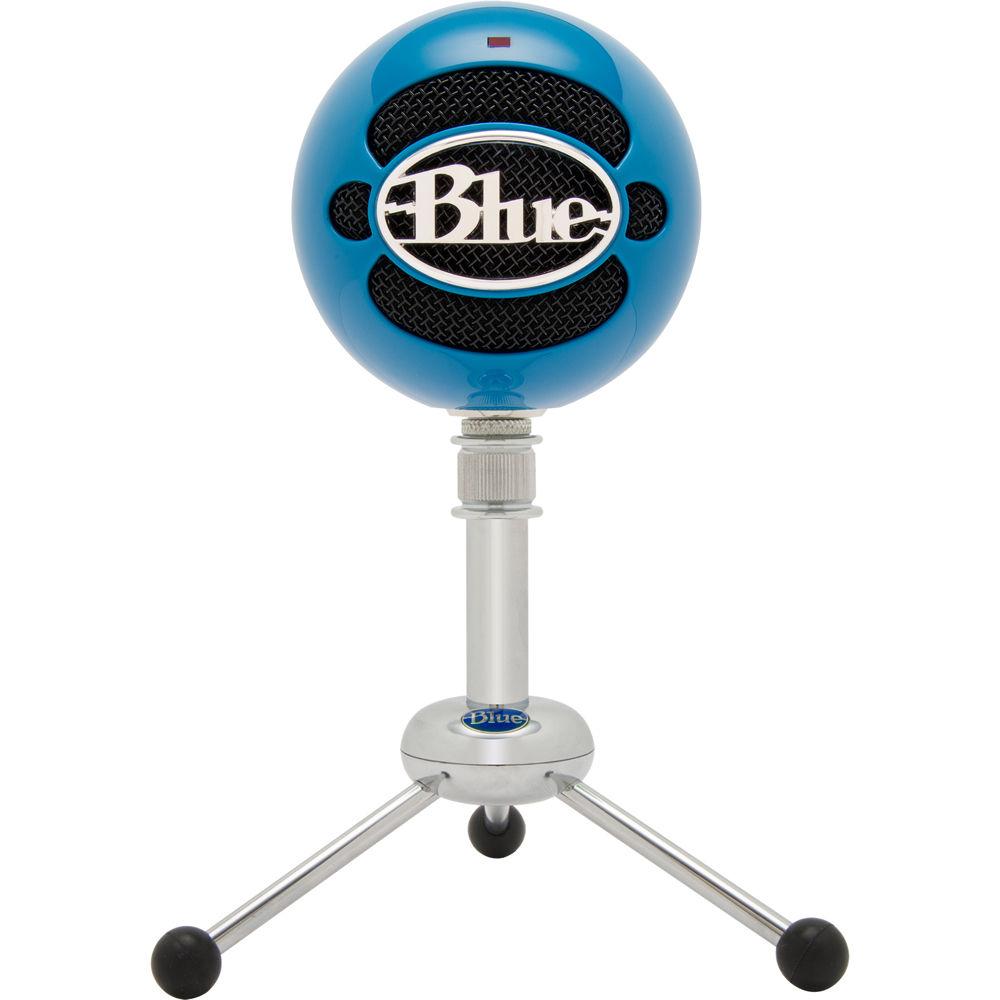 Usb Microphone Blue Snowball : blue snowball usb condenser microphone snowball neon blue b h ~ Russianpoet.info Haus und Dekorationen