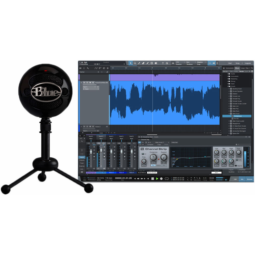 blue snowball studio usb all in one vocal snowball studio b h. Black Bedroom Furniture Sets. Home Design Ideas