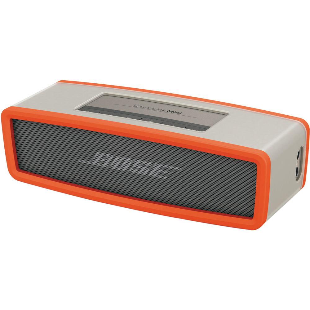 Discontinued by Manufacturer Orange Bose 360778-0040 SoundLink Mini Speaker Soft Cover