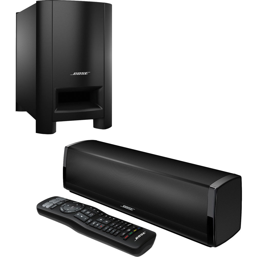bose cinemate 15 home theater speaker system black rrp 749 brand new in box ebay. Black Bedroom Furniture Sets. Home Design Ideas