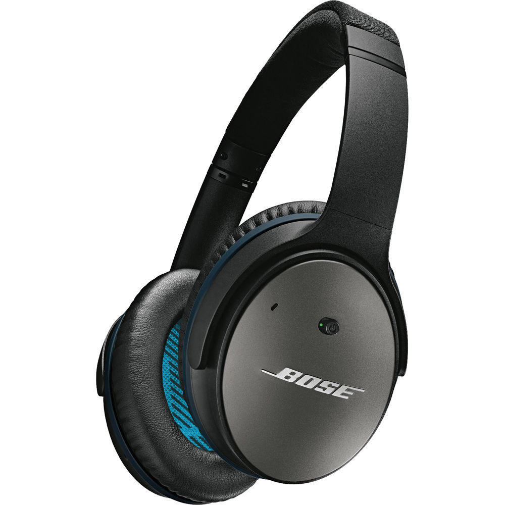 Bose QuietComfort 25 Acoustic Noise Cancelling Headphones (iOS, Black)