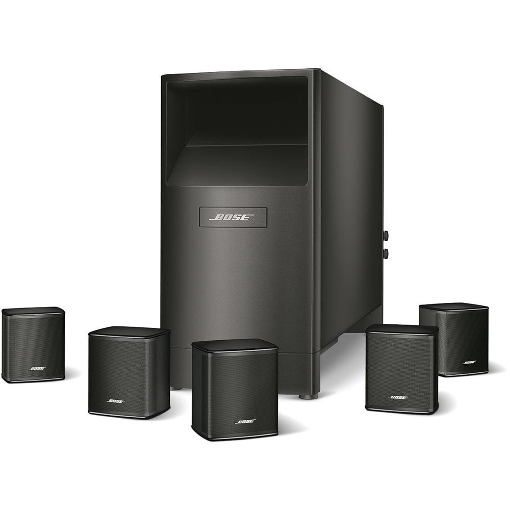Bose acoustimass 6 series v home theater speaker 720960 1100 b h - Home cinema enceinte ...