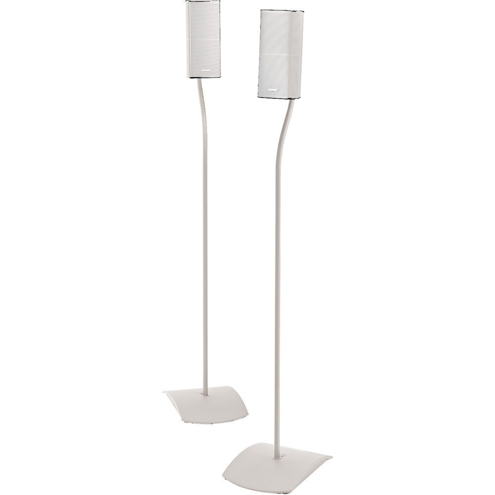 bose ufs 20 series ii universal floorstands pair white. Black Bedroom Furniture Sets. Home Design Ideas