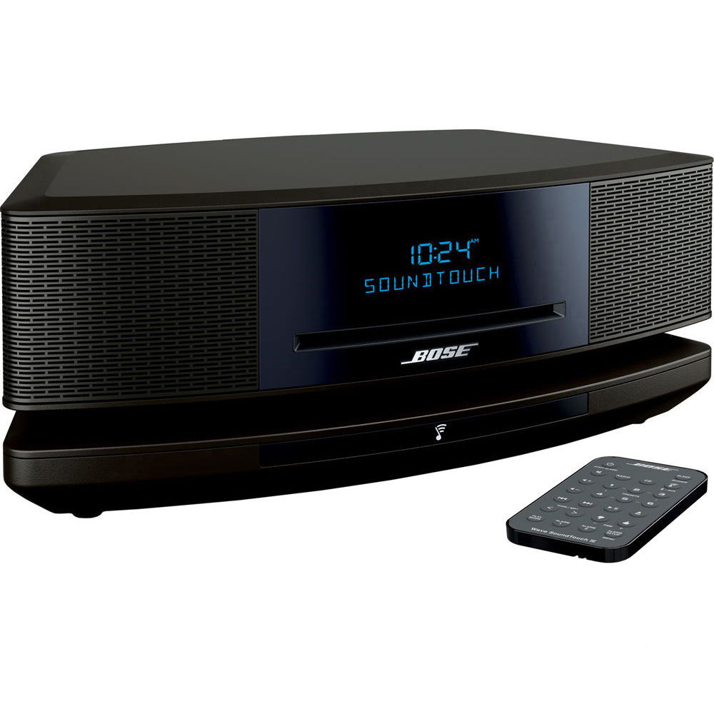 bose wave soundtouch music system iv espresso black. Black Bedroom Furniture Sets. Home Design Ideas