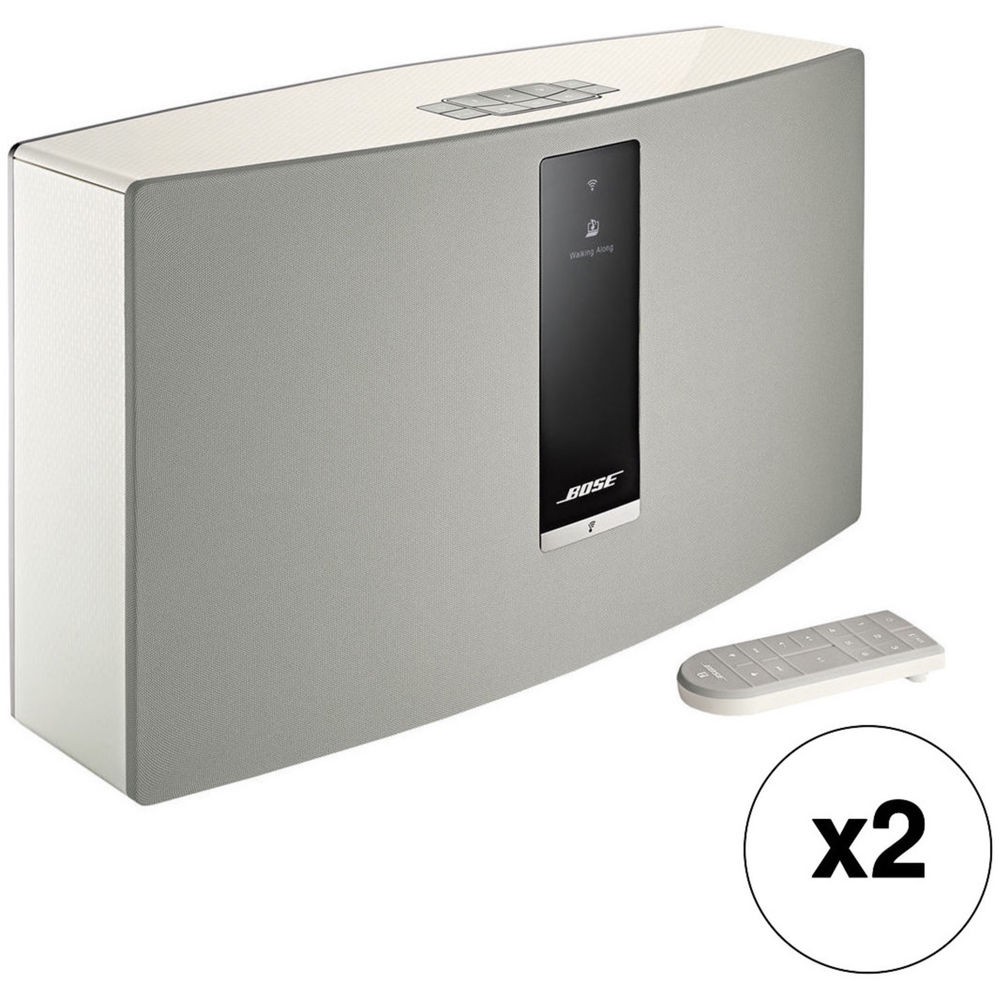 bose soundtouch 30 series iii wireless music system pair kit b h. Black Bedroom Furniture Sets. Home Design Ideas