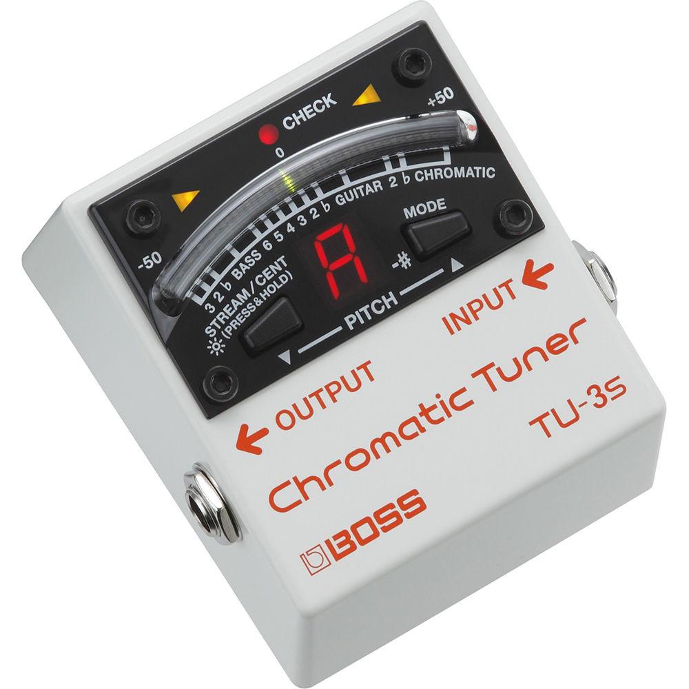 Tu: BOSS TU-3S Chromatic Tuner TU-3S B&H Photo Video