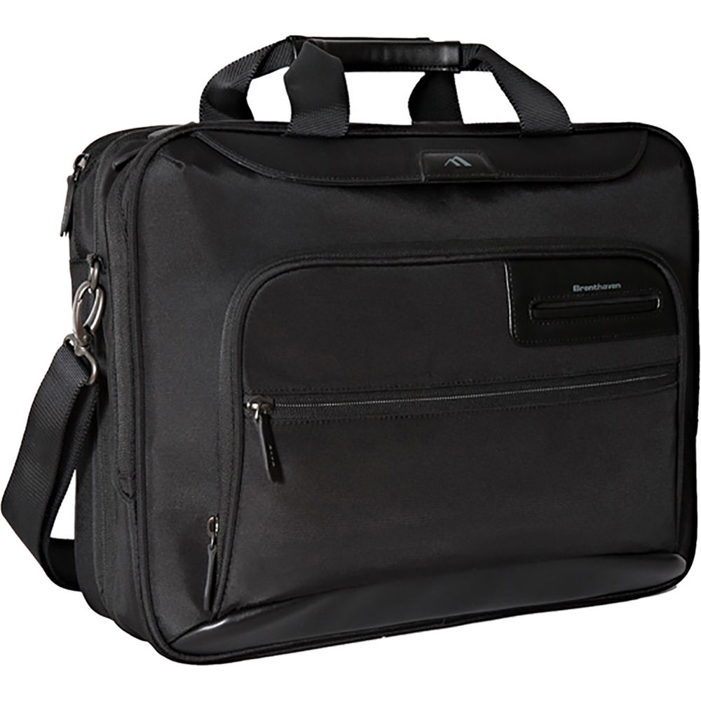 ccd9548e2 Brenthaven Elliot Deluxe Laptop and Tablet Brief (Black) 2301