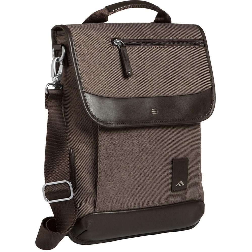 Bhaven Medina Vertical Messenger Bag For 13 3 Laptop Chestnut